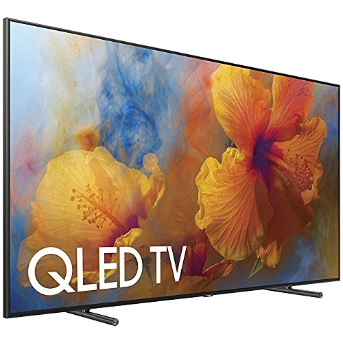 Samsung QN65Q9 65-Inch 4K Ultra HD Smart QLED TV (2017 Model) + 1 Year Extended Warranty (Certified Refurbished)