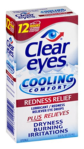 Clear Eyes Cooling Comfort Redness Relief, 3 Count