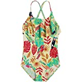Arshiner Toddler Girls Stripes Bathing Suits One Piece Swimwear