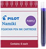 Pilot Namiki IC50 Fountain Pen Ink Cartridge, Purple, 6 Cartridges per Pack (69004)