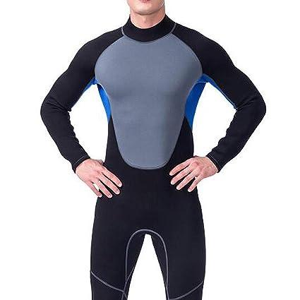 HUOFEIKE Traje de Neopreno Profesional para Hombres, Surf Natación ...