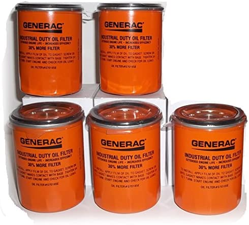 Generac 070185E 90mm High Capacity 30/% More Filter Oil Filter 90 Logo ORNG-CAN