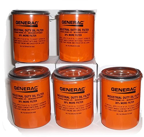 Generac OIL FILTER 90 LOGO ORNG-CAN - 070185E 90mm High C...