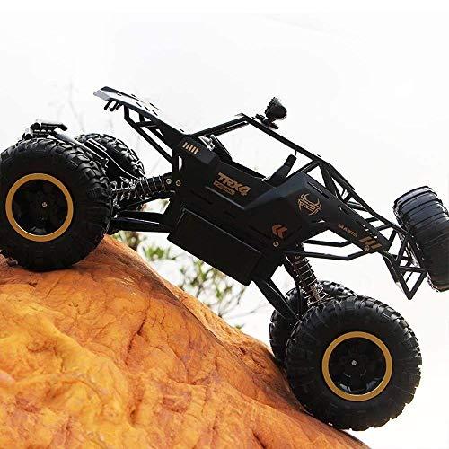 1/12 Skala Großen LKW-2,4-GHz-4WD Big Foot Fernbedienung Off Road Auto, Beruf stoßabsorbierendes System, Sturz- und crashsicher, Wiederaufladbare (Größe : 1 battery)