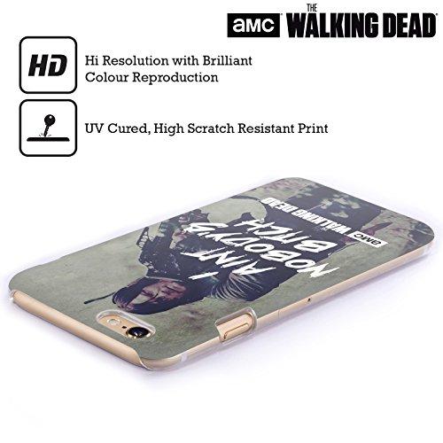 Officiel AMC The Walking Dead Daryl Typographie Étui Coque D'Arrière Rigide Pour Apple iPhone 6 / 6s