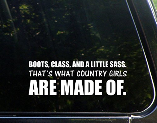 Little Country Bumper Sticker Windows product image