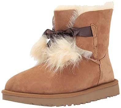 Amazon.com | UGG Women's Gita Pom-Pom Boot | Snow Boots