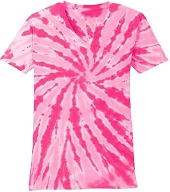 f0a44775 Joe's USA Koloa Ladies Colorful Tie-Dye V-Neck Tees in 10 Colors ...
