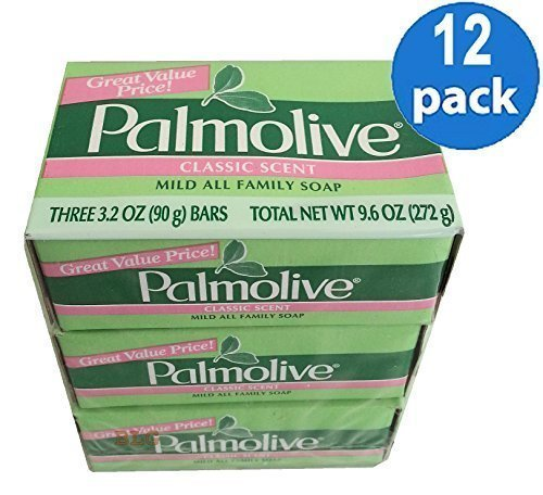 Palmolive Classic Scent Mild All Family Hand & Bath Soap. (12 Pack.. 36 bars).. HPVagr