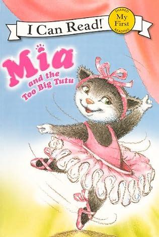 book cover of The Too Big Tutu