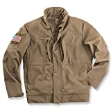 Beretta Men's Techno Windshield Tactical Bomber Jacket, Flat Dark Earth, Large