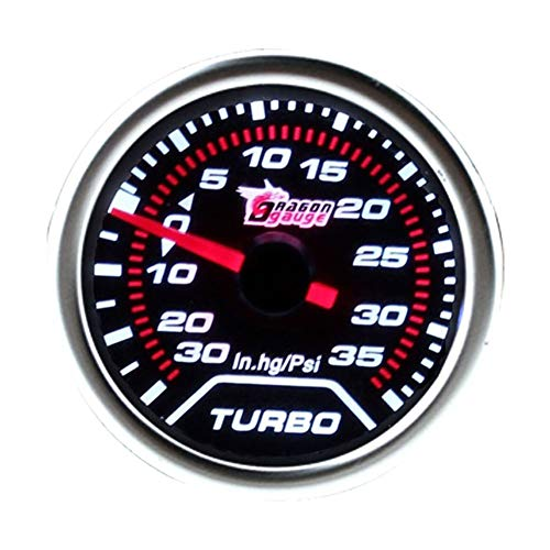 Duoying Modified Instrument Boost Gauge Universal Red Pointer 2