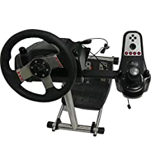 Racing Steering Wheel Stand Wheels Original Stand,Wheel and Pedals Not included