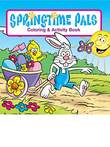 Pals Springtime (Springtime Pals Kid's Coloring & Activity Book in Bulk (25-pack))