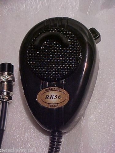 RoadKing RK56B Noise Canceling Mic wired 4 Pin CB Radio Cobra Uniden Galaxy