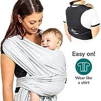 Koala Babycare Fascia porta bambino facile da indossare (easy on), regolabile