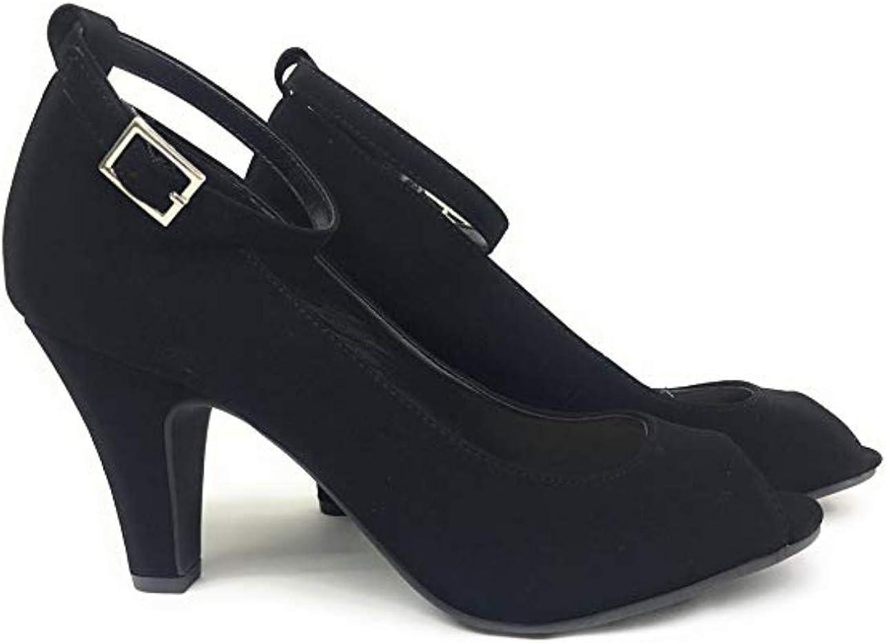 City Classified Reason Womens Strappy Open Toe Rhinestone Low Heel