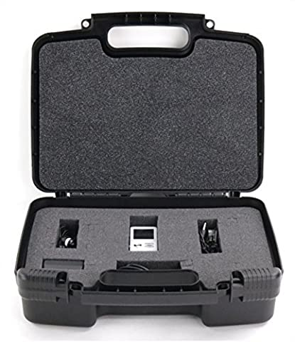 Hard Storage Carrying Case For Digital Voice Recorders Safely In Protective Foam- Stores Dictopro Digital Voice Activated Recorder Double Microphone for HD Recording & Noise (Microcassette Storage)