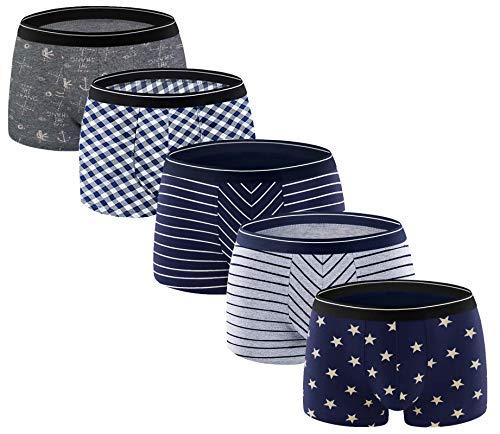 Buy mens cotton boxer briefs