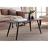 Madison Home Modern and Simply Designed Coffee Table Black