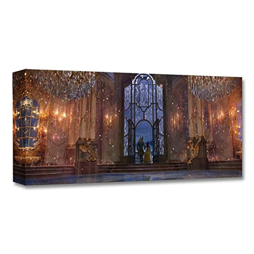 """Castle Ballroom (Interior)"" Limited Edition on Canvas from the Disney Fine Art Treasures Collection; with COA."