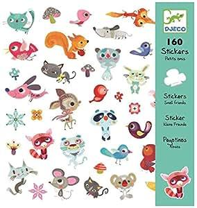 Djeco - Stickers - Pequeños Amigos