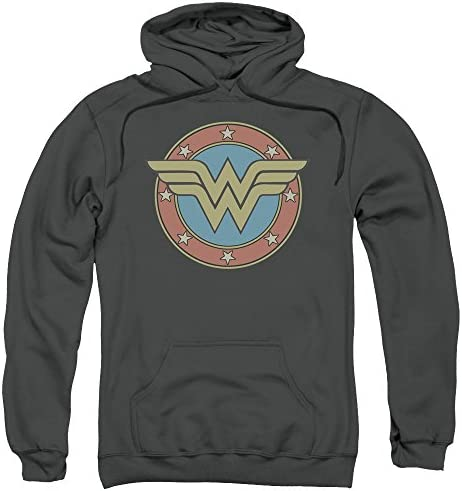 Wonder Woman WW Vintage Emblem Licensed Sweatshirt Hoodie