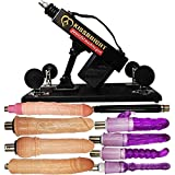Massage Tool Machine Multi-Speed Adjustable Telescopic for Women with Different Attachments
