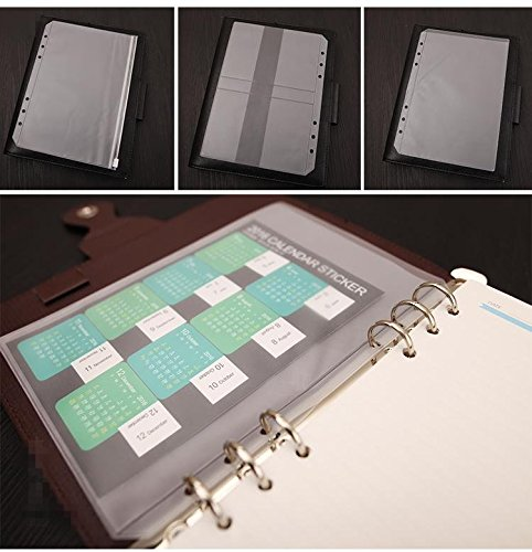 Chris-Wang A5 Size EVA Travel Ring Binder Planner Notebook for sale  Delivered anywhere in USA