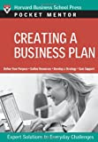 Creating a Business Plan (Pocket Mentor)