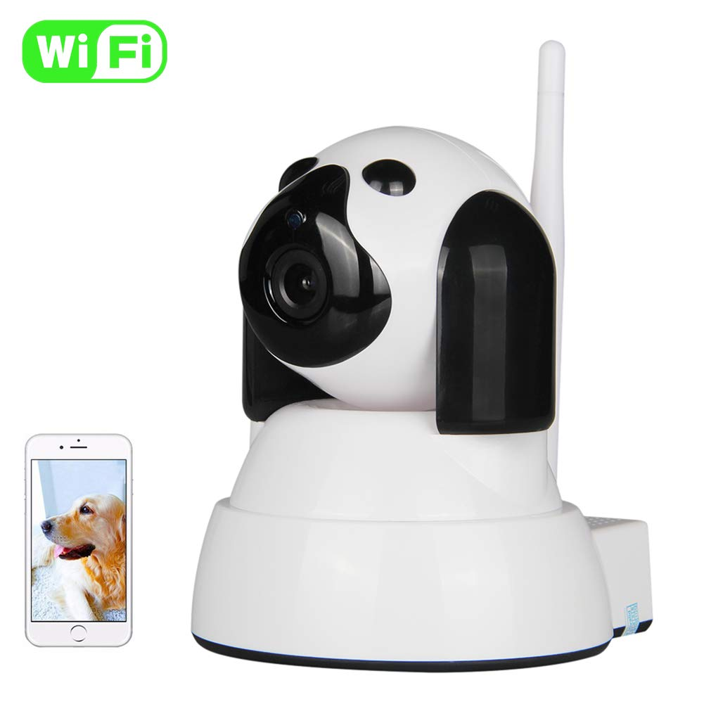 Iduola Pet Camera Baby Monitor Wireless IP Camera, 720P HD WiFi Security  Dog Camera with Two-Way Talking, Night Vision, Home Security Surveillance