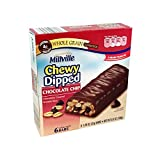 Millville Chewy Dipped Chocolate Cover Granola Bar (Chocolate Chip) Review