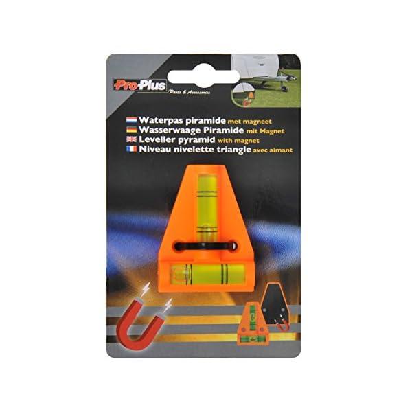 51SsZuCFJwL ProPlus 341215 Magnetische Wasserwaage für Wohnwagen, Wohnmobil und Caravan
