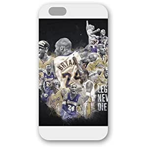 (TCustomized White Frosted Case For HTC One M7 Cover Case, NBA Superstar Lakers Kobe Bryant Case For HTC One M7 Cover Case, Only Fit Case For HTC One M7 Cover Case