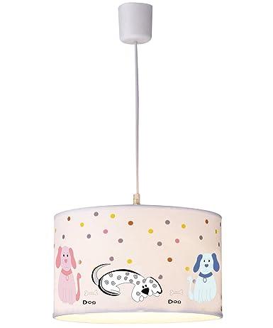 PureLume - Lámpara infantil dulce de perros lámpara de techo ...