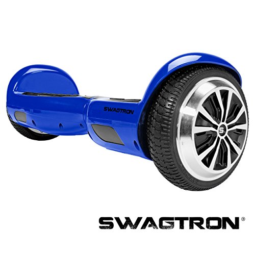 SWAGTRON T1 - UL 2272 Certified Hoverboard - Electric Self-Balancing Scooter – Your swag personal transporter awaits you. (Blue)