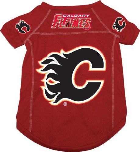 NHL Calgary Flames Pet Jersey,  Small