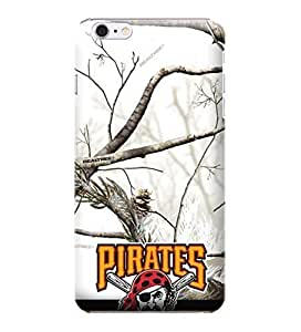 iPhone 6 Plus Case, MLB - Pittsburgh Pirates Realtree Camo - iPhone 6 Plus Case - High Quality PC Case
