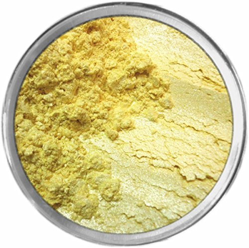 Lemon Drop Loose Powder Mineral Shimmer Multi Use Eyes Face Color Makeup Bare Earth Pigment Minerals Make Up Cosmetics By MAD Minerals Cruelty Free - 10 Gram Sized Sifter (Bareminerals Yellow Eye Color)