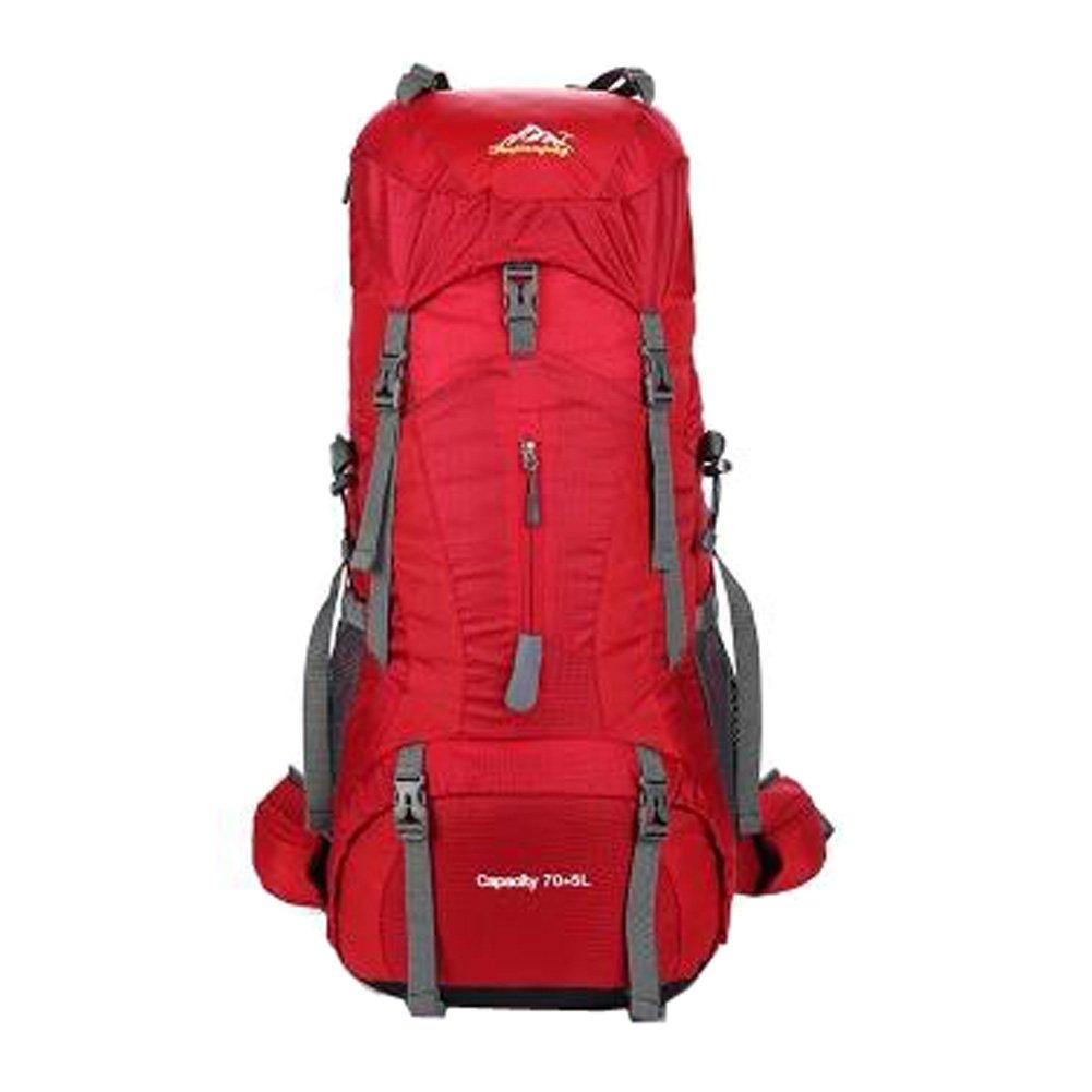 スポーツアウトドアカジュアルバックパックキャンプハイキングバッグレインカバー付き旅行バッグ、NO.7   B07KXFNKMF