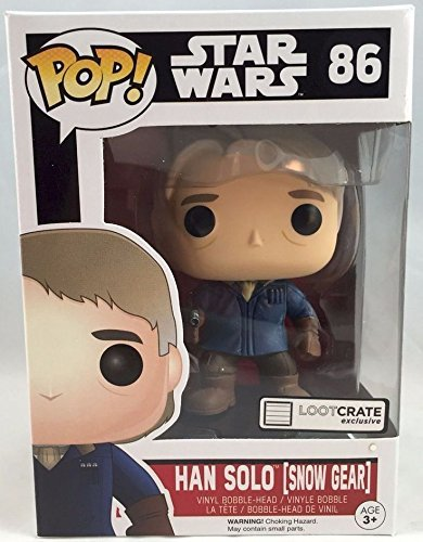 Loot Crate Exclusive Han Solo Bobble Head (Snow Gear) by Pop
