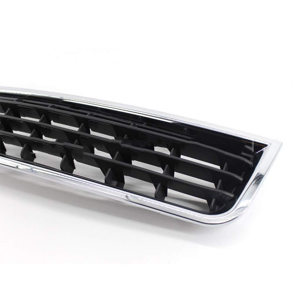 Chrome auto paraurti anteriore centrale inferiore Vent griglia griglie griglie di auto Racing