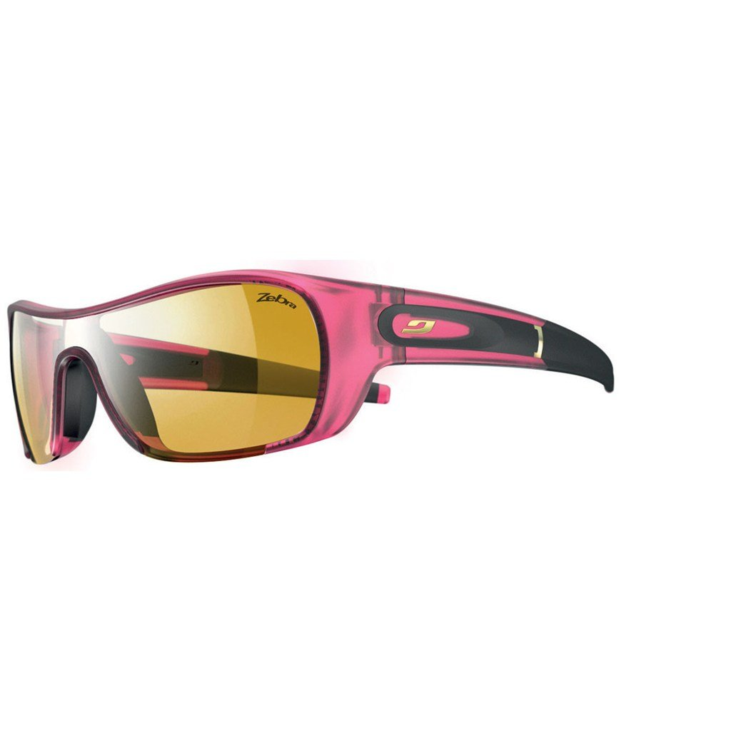 7031d8eac2fb86 Amazon.com  Julbo Women s Groovy Performance Sunglasses with Zebra Lenses   Sports   Outdoors