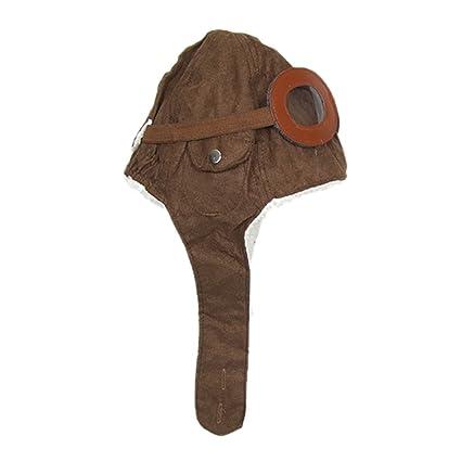 Hosaire Pilotos Gorras Sombreros Capucha Niños Niñas Bebés de Algodón para  Invierno (Cafe)  Amazon.es  Hogar 63424cf50b9