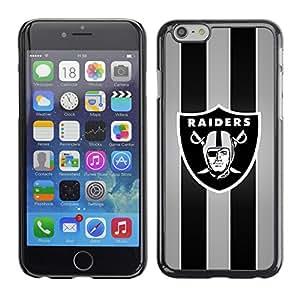 Design for Girls Plastic Cover Case FOR iPhone 6 Raider Sports Team OBBA