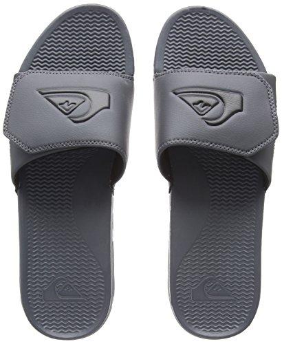 Adjust Sandals Quiksilver Shoreline UK Slider Grey 12 8w5pF
