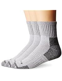 Carhartt Men's Cotton Quarter Work Sock 3-Pack