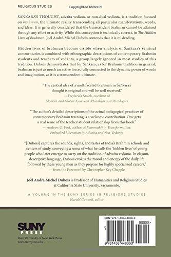 Amazon.com: The Hidden Lives of Brahman: Sankara's Vedanta through ...