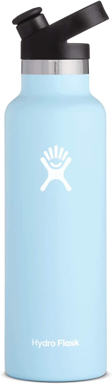 Hydro Flask 21 oz Water Bottle, Sport Cap - Frost