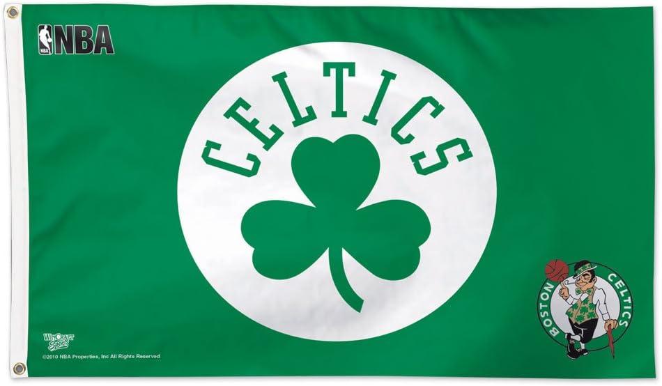 NBA Boston Celtics Flag Deluxe, 3 x 5-Foot